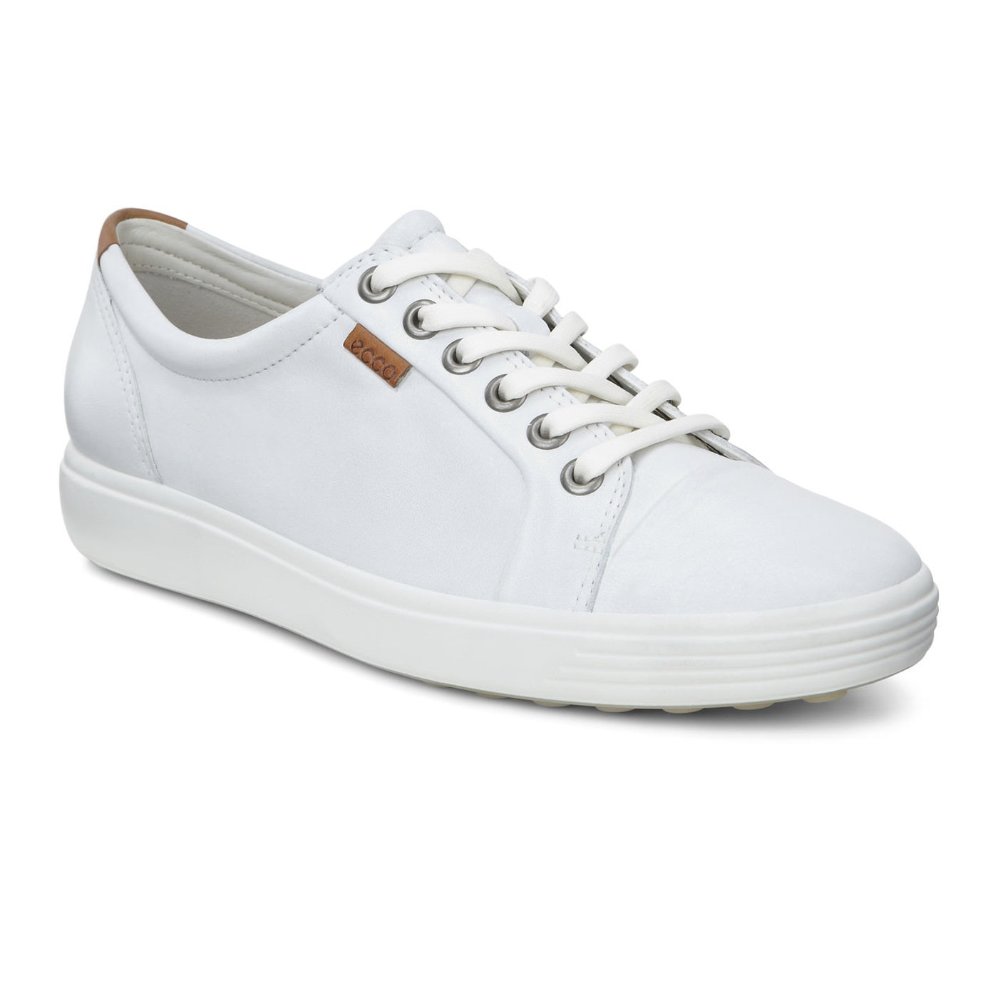 Women's Ecco Soft 7 Sneaker - White