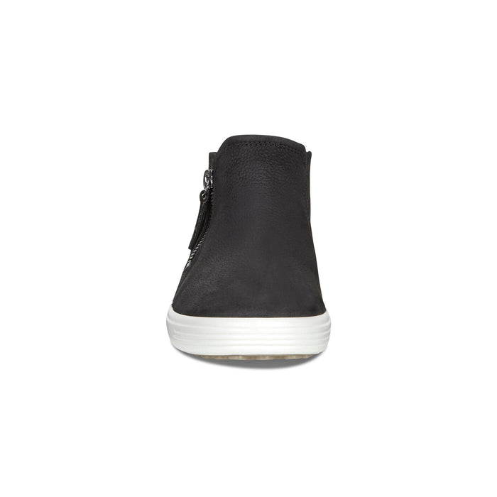 Women's Ecco Soft 7 Low Bootie - Black/Powder