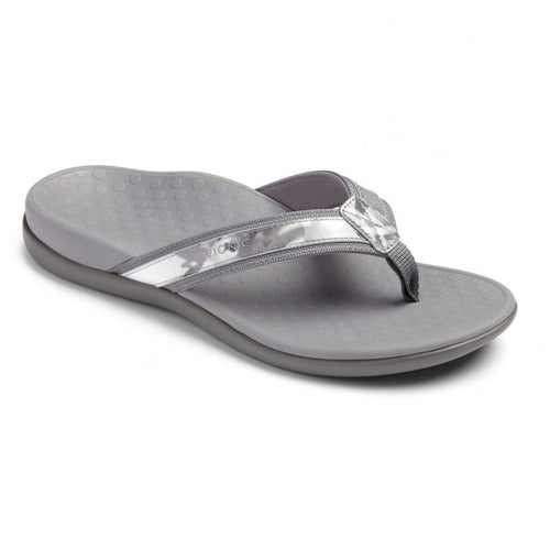 Women's Tide II Toe Post Sandal - Grey Floral