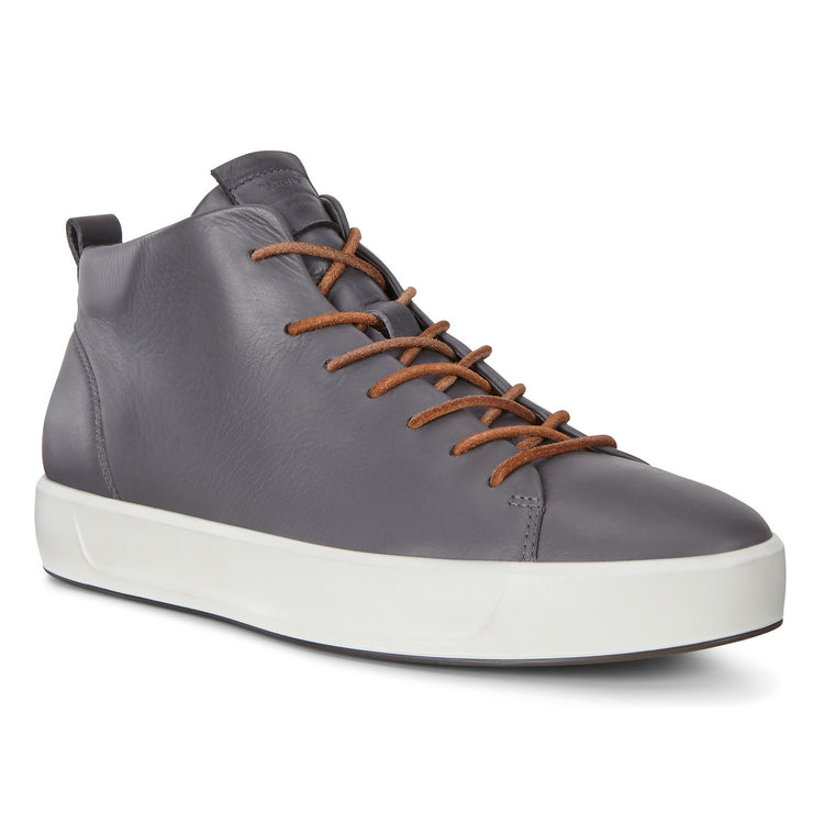 Men's Ecco Soft 8 Ankle Sneakers - Magnet