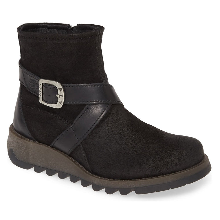Women's Fly London Sake Bootie - Black