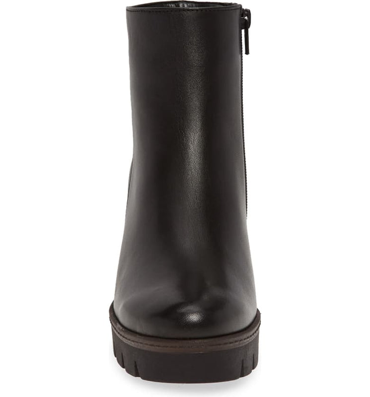 Gabor Women's Wedge Boot 34.780.27 - Black Nappa Leather