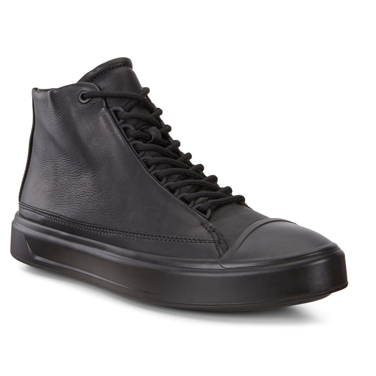 Men's Ecco Flexure T-Cap High Top - Black