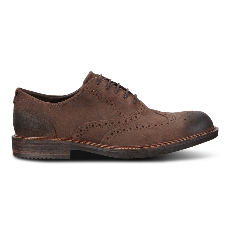 Men's Ecco Kenton Oxford Tie - Coffee