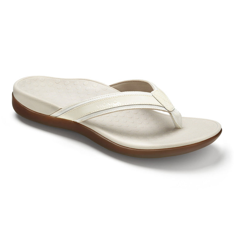Women's Vionic Tide II Toe Post Sandal - White