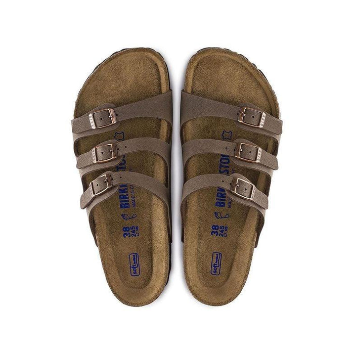 Women's Birkenstock Florida Soft Footbed Sandal - Mocha