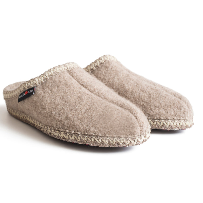 Haflinger Women's AS Classic Indoor Slipper - Natural