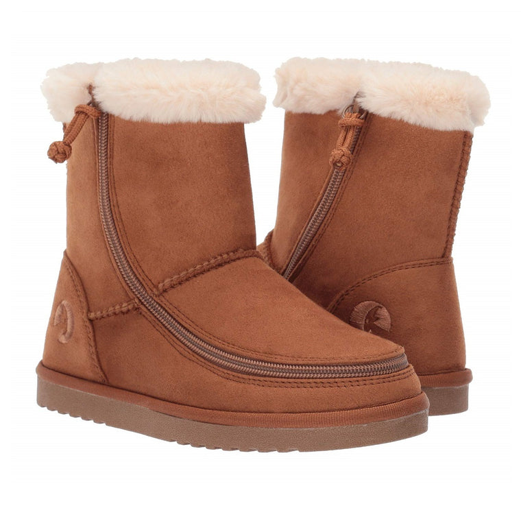 Kid's BILLY Footwear Billy Cozy Boots - Chestnut