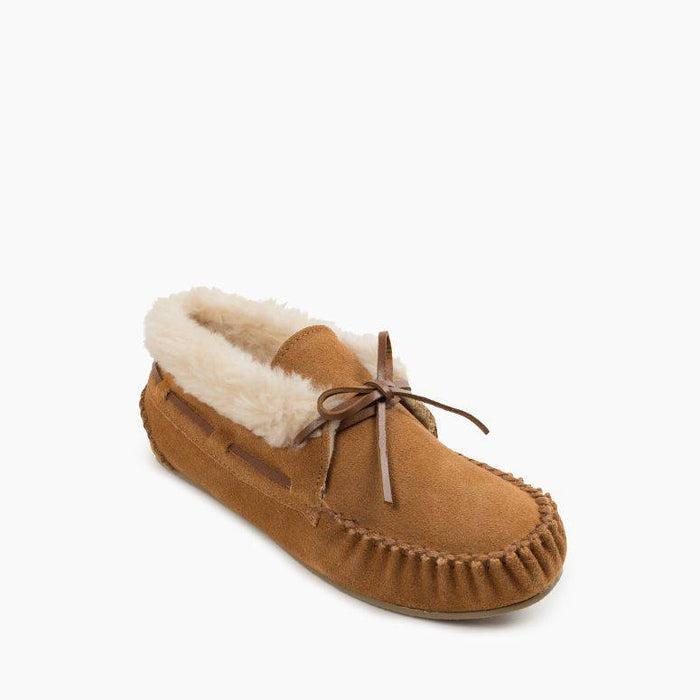 Women's Minnetonka Chrissy Bootie Slipper - Cinnamon