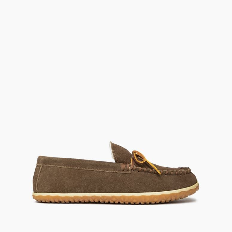 Minnetonka Men's Taft Slipper - Autumn Brown