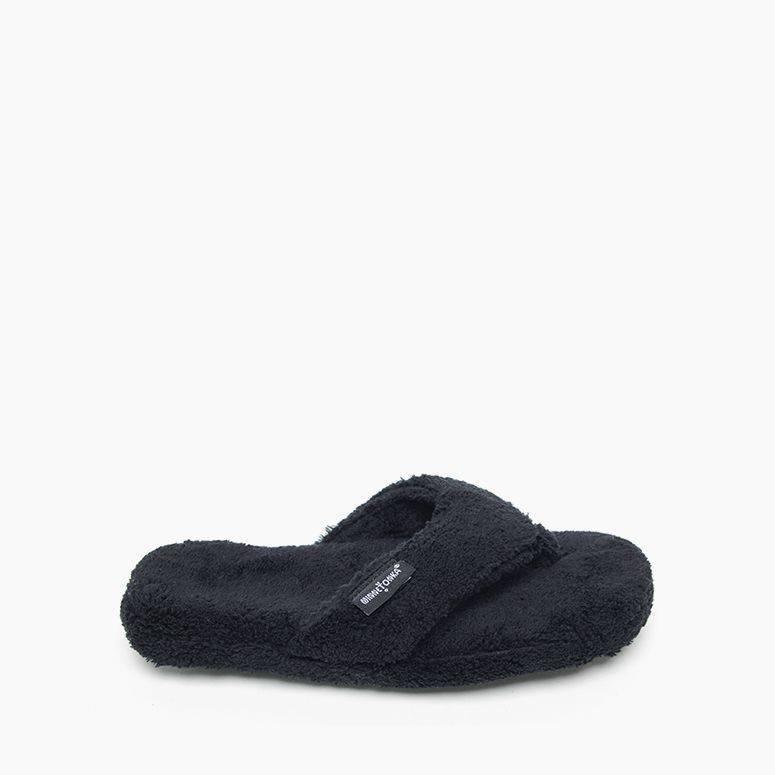 Women's Minnetonka Olivia Spa Slipper - Black