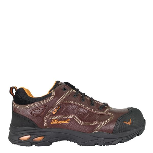 Thorogood Men's 804-4035 Static Dissipative Safety Toe Oxford - Brown