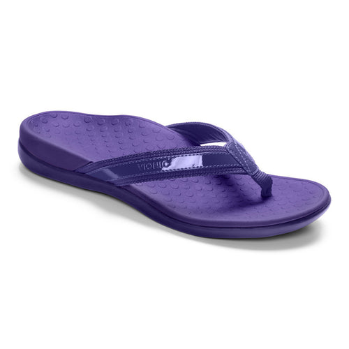 Women's Tide II Toe Post Sandal - Dark Purple