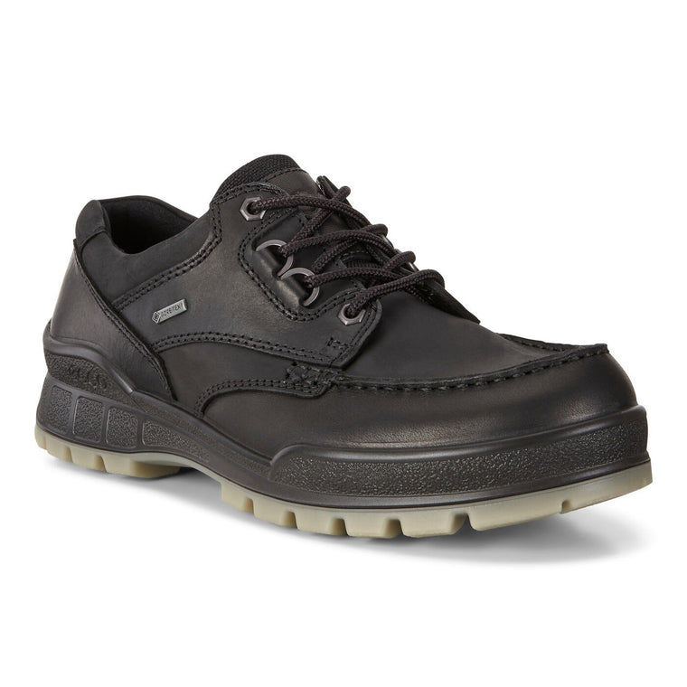 Ecco Men's Track 25 Low GTX Shoes - Black/Black