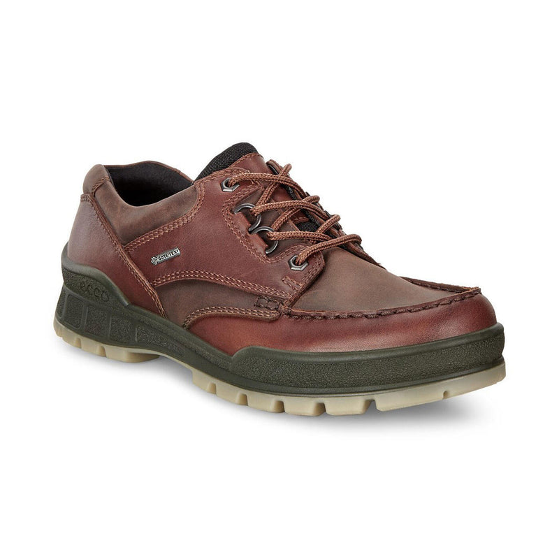 Ecco Men's Track 25 Low Hiking Shoes - Bison/Bison