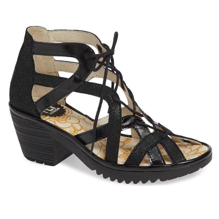 Women's Fly London Want - Black Cool/Luxor