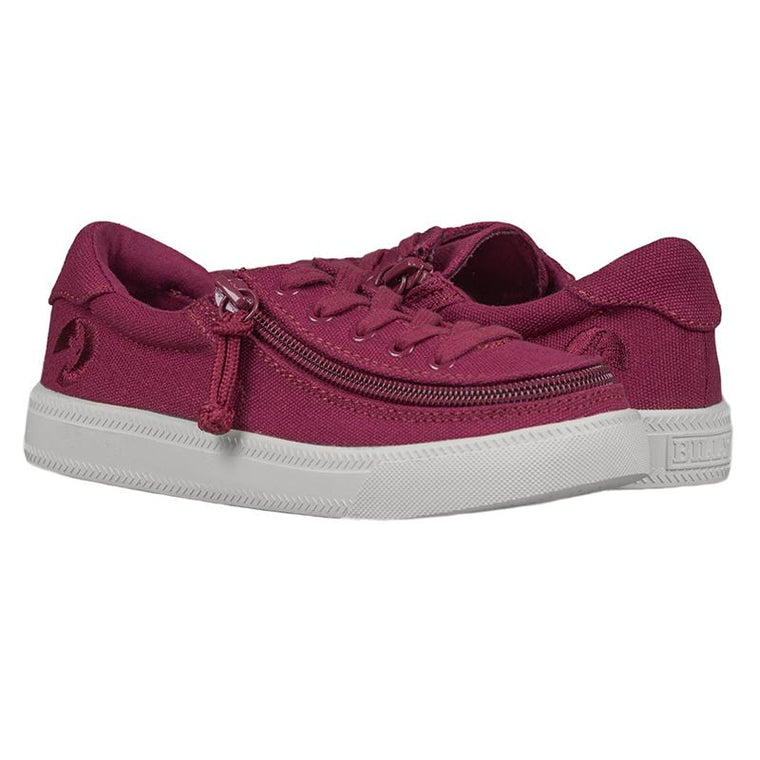 Kid's BILLY Footwear Classic Lace Low - Wine