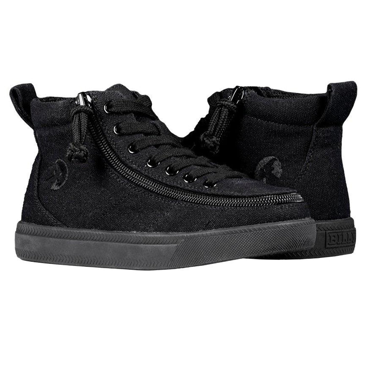BILLY Footwear Kids Classic Wide WDR High Tops - Black to the Floor