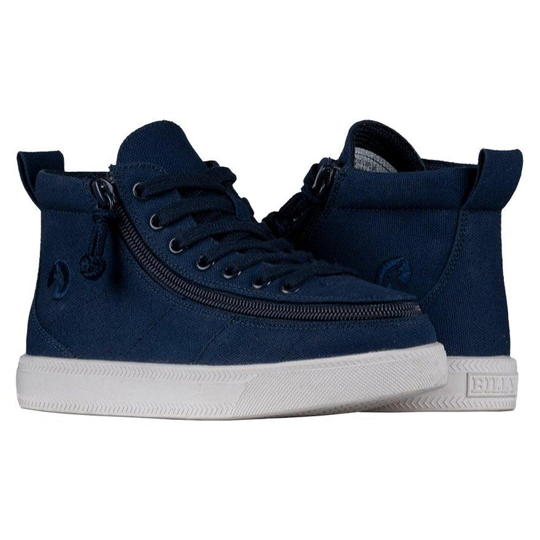 BILLY Footwear Kids Classic Wide WDR High Top - Navy