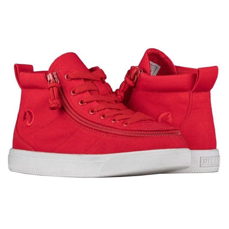 BILLY Footwear Kids Classic Wide WDR High Top - Red