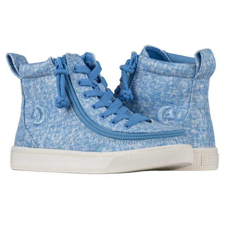 BILLY Footwear Kid's Classic Lace High - Periwinkle