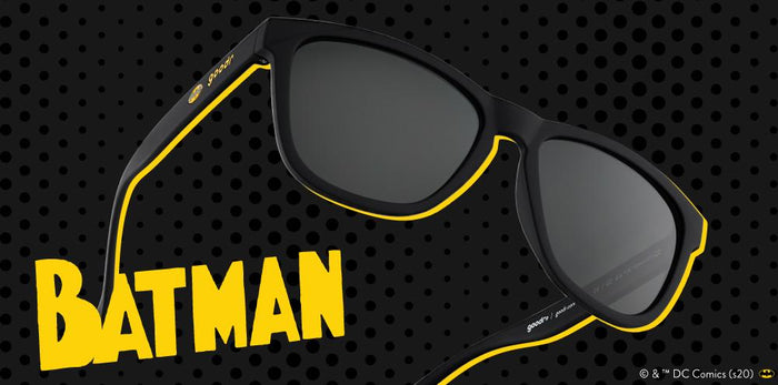 goodr Sunglasses The OGs - Dark Knight Clubbin' LIMITED EDITION: BATMAN