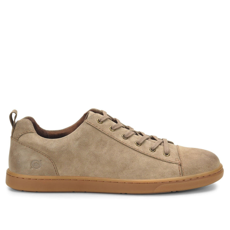 Born Men's Allegheny Lace Up Sneaker - Taupe Suede