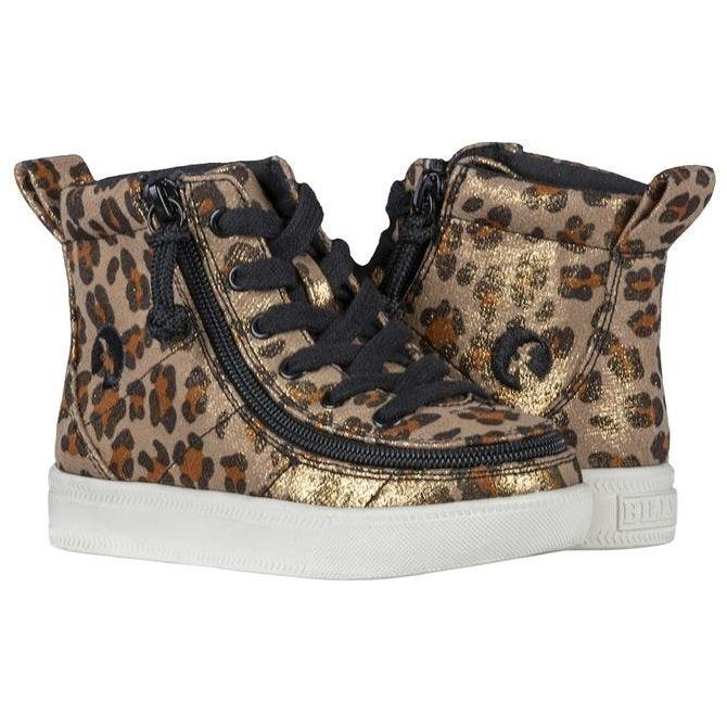 Toddler Leopard Shimmer BILLY Classic Lace High