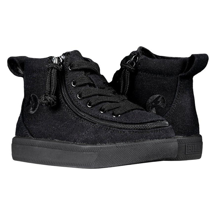 BILLY Footwear Toddler Classic Wide WDR High Tops - Black to the Floor