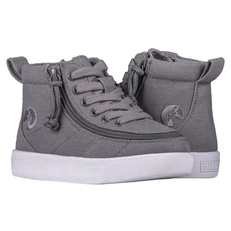 BILLY Footwear Toddler Classic Wide WDR High Tops - Dark Grey