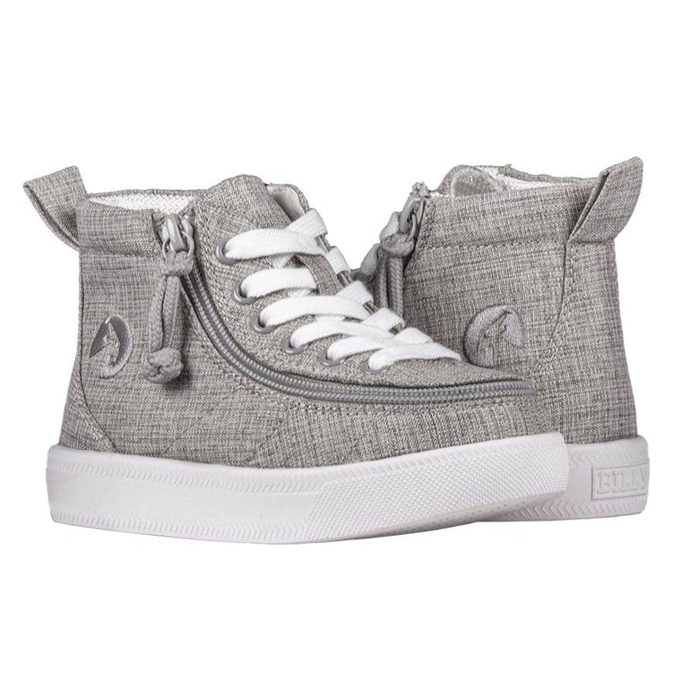 BILLY Footwear Toddler Classic WDR High Tops - Grey Jersey