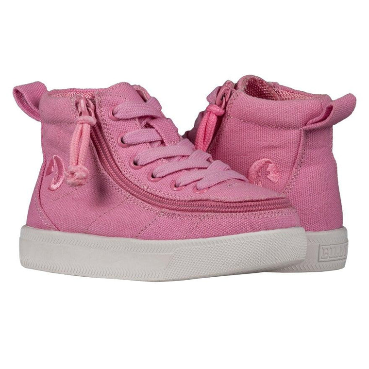 BILLY Footwear Toddler Classic Wide WDR High Tops - Pink