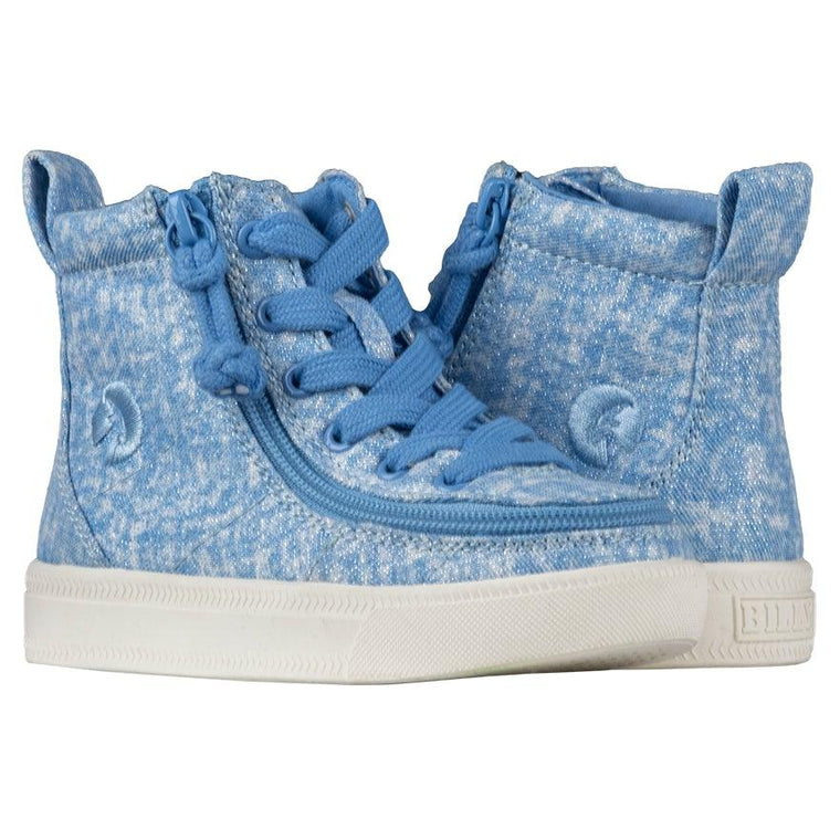 BILLY Footwear Toddler Classic Lace High - Periwinkle