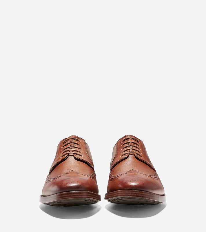 Men's Cole Haan Jay Grand Wingtip Oxford - British Tan