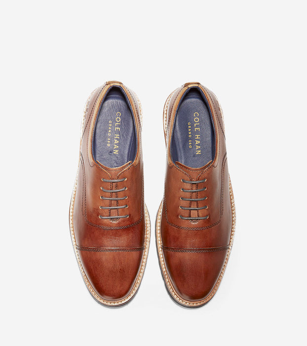 Men's Cole Haan Raymond Grand Cap Toe Oxford - Mesquite Handstain