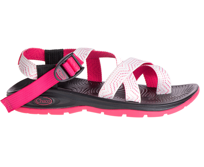 Women's Chaco ZVOLV 2 Sandal in LED Raspberry