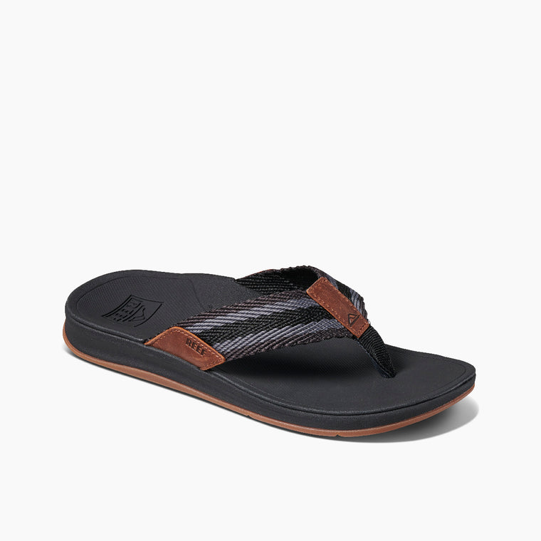 Reef Men's Ortho Coast Woven Sandals - Black