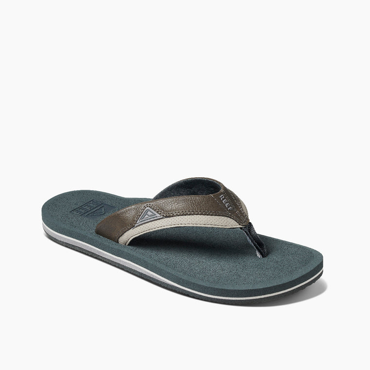 Reef Men's Cushion Dawn Flip Flops - Grey