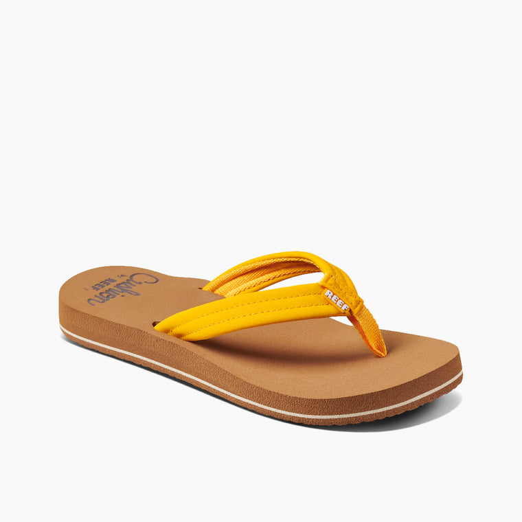 Reef Women's Cushion Breeze Flip Flops - Saffron