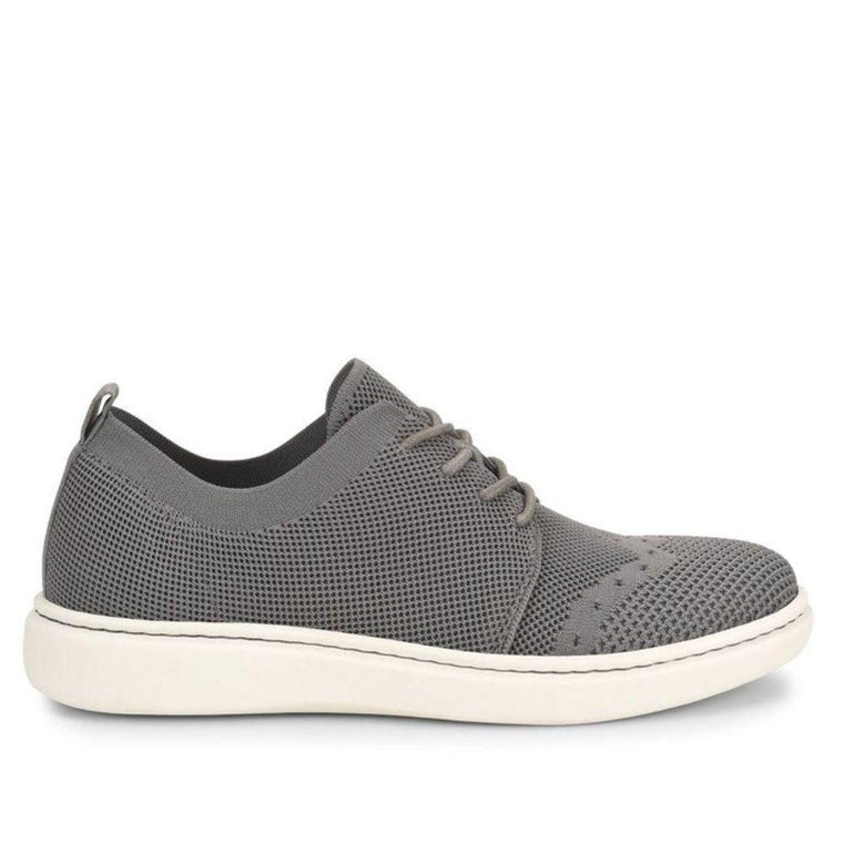 Born Men's Fade Knit Lace-Up Sneaker - Grey