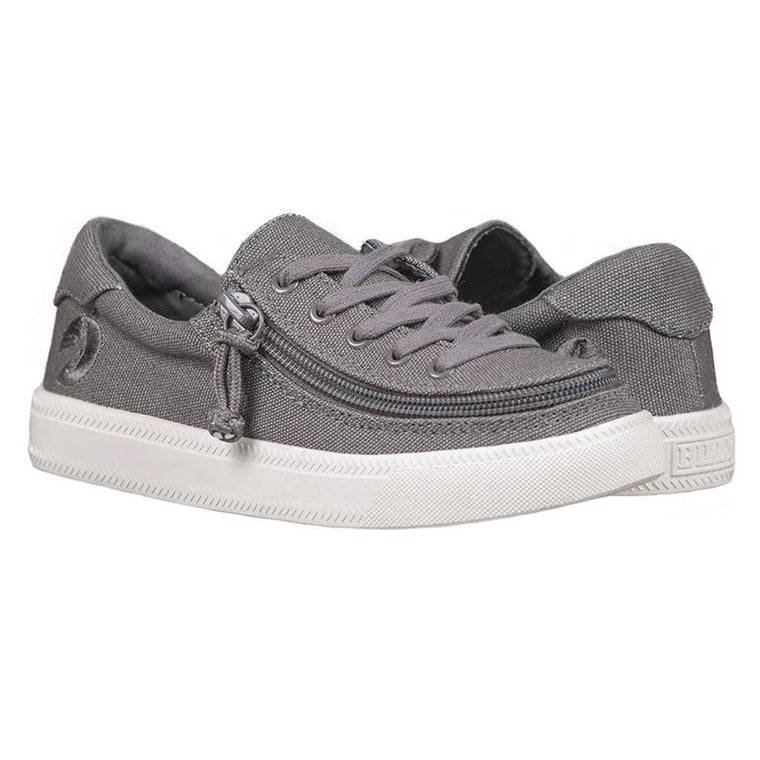 Kids' BILLY Footwear Classic Lace Zip Low - Dark Grey
