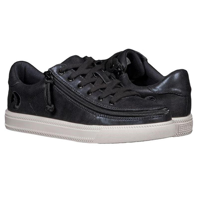 Women's BILLY Footwear Classic Lace Low - Black Shine