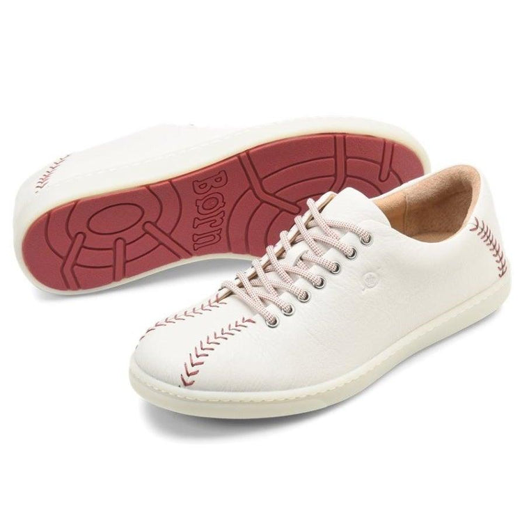 Born Men's Jackson Baseball Sneaker - White
