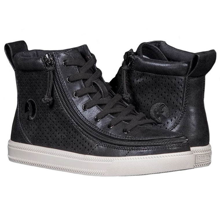 Women's BILLY Footwear Classic Lace High - Black Shine