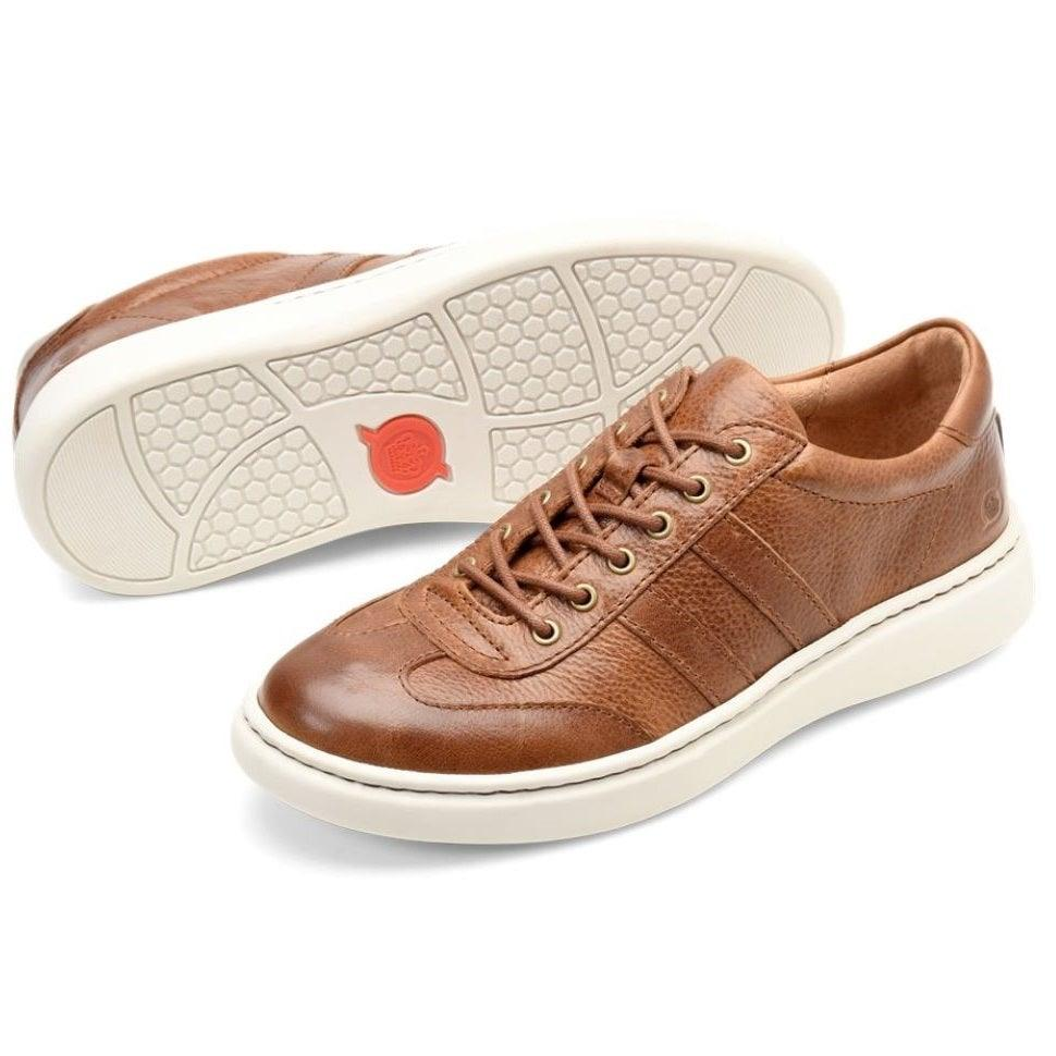 Born Men's Fade Lace-Up Sneaker - Brown Bourbon