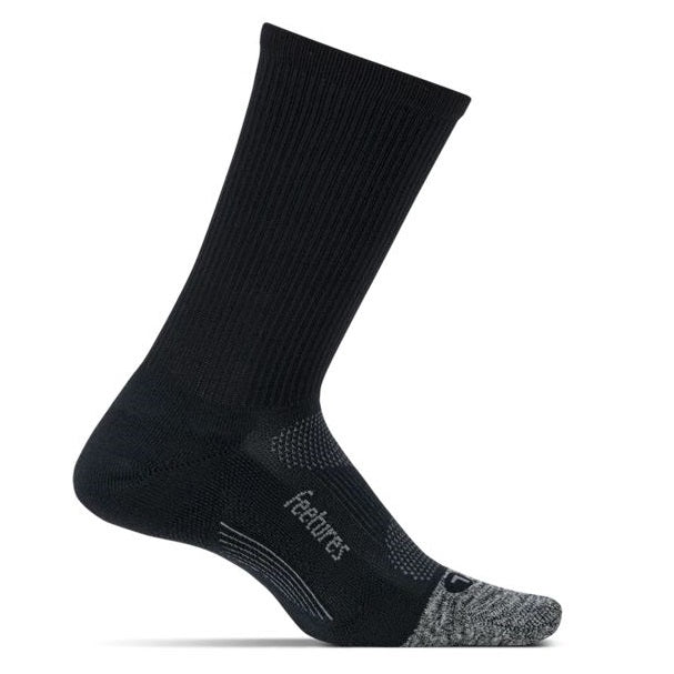 Feetures Elite Light Cushion Mini Crew - Black