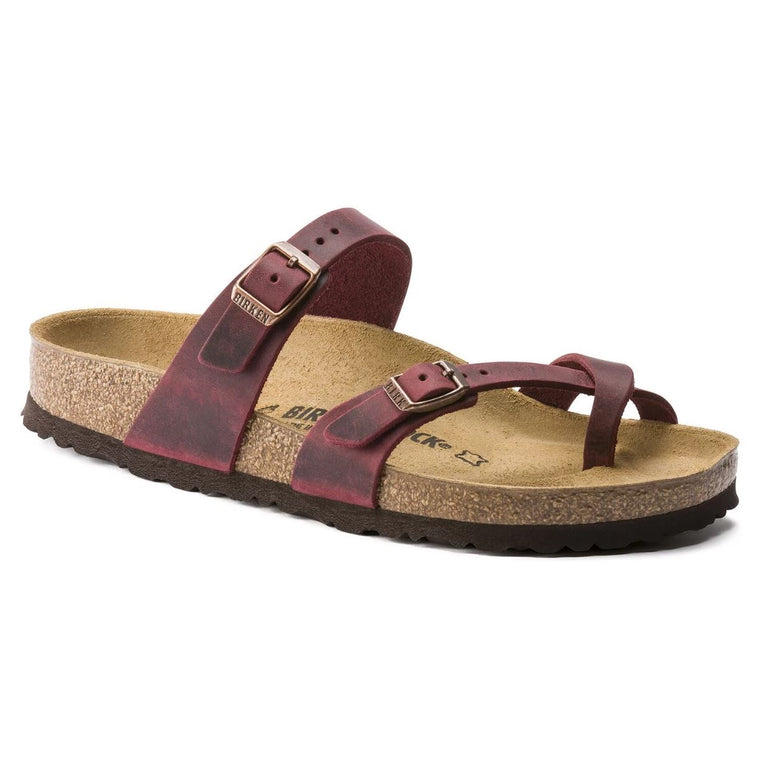 Women's Birkenstock Mayari Sandal - Zinfandel Oiled Leather