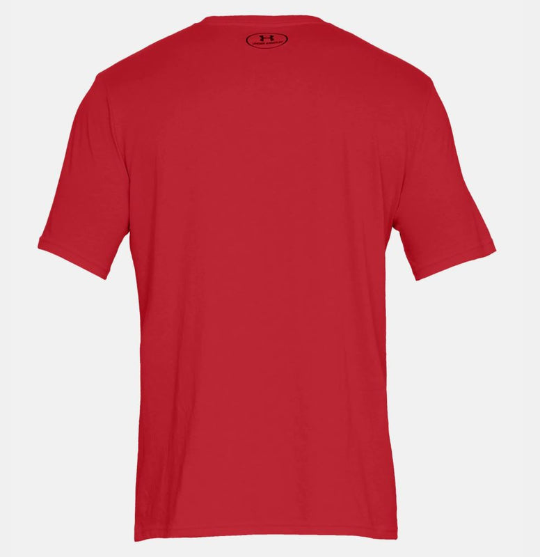 Men's Under Armour UA Sportstyle Left Chest Short Sleeve T-Shirt - Red