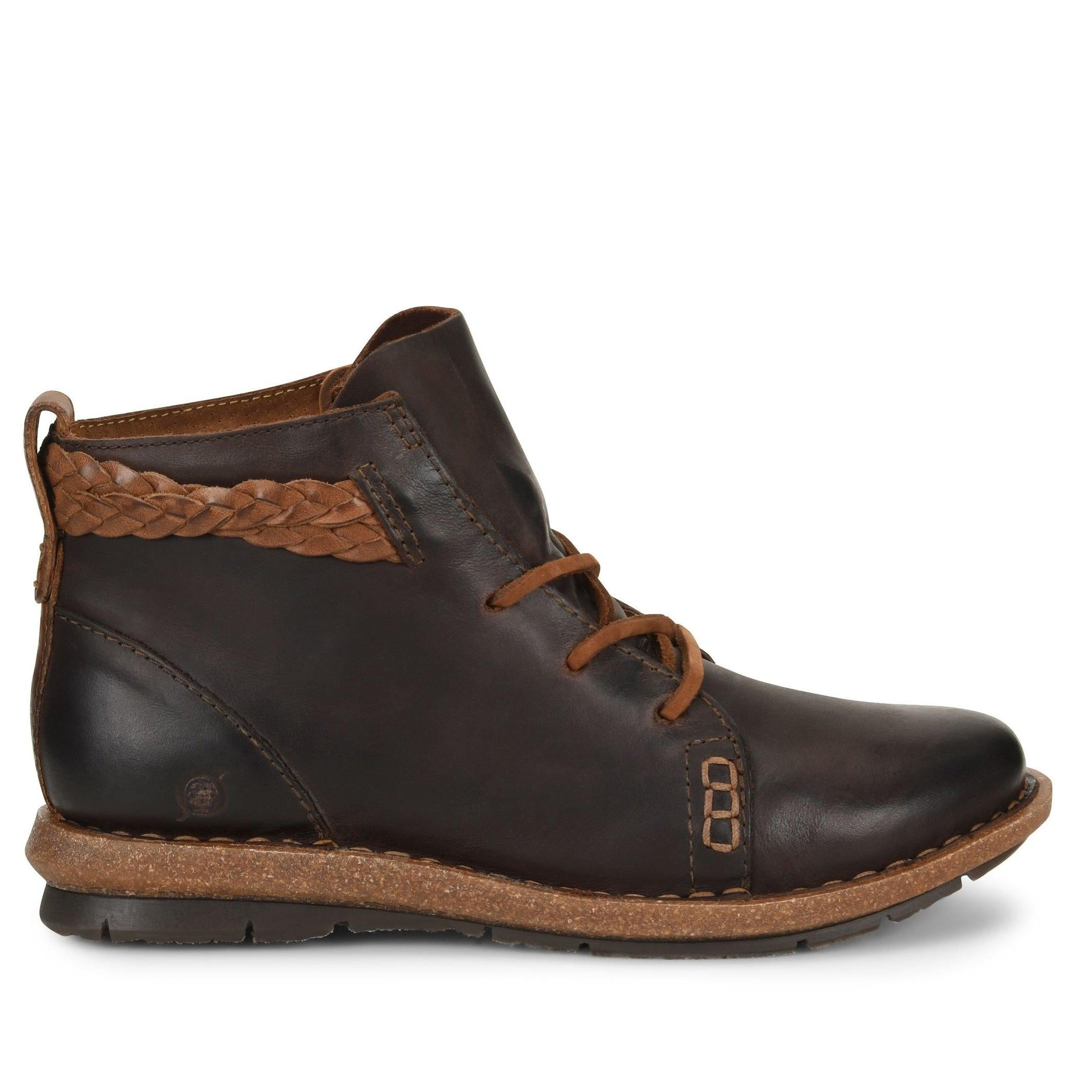Born Women's Temple Boot - Castano (Dark Brown)