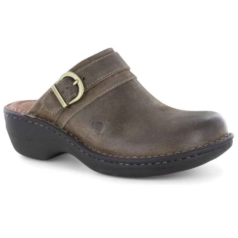 Women's Born Avoca Clog - Taupe Distressed